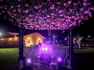 Tenuta Elisa Wedding Giardino di Sera