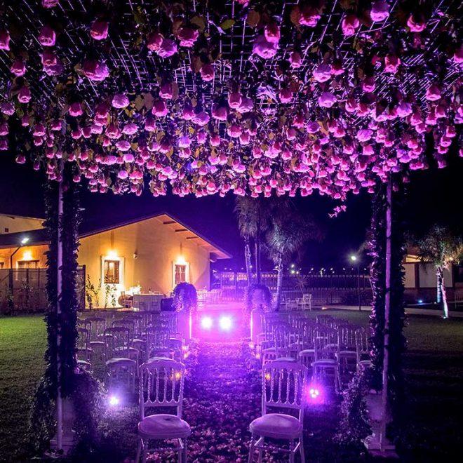Tenuta Elisa Wedding Giardino Sera